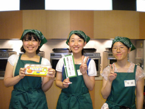 武庫川女子大学 葉酸よーさん食べよう