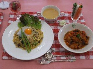 彩り野菜のイタリアンランチ